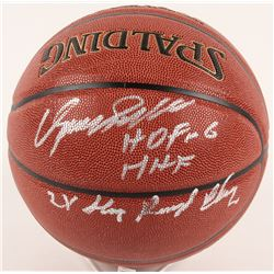 Dominique Wilkins Signed NBA Basketball with Multiple Inscriptions (Schwartz COA)
