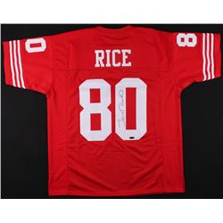 Jerry Rice Signed 49ers Jersey (TriStar COA)