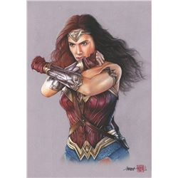 Thang Nguyen - Wonder Woman 8x12 Signed Limited Edition Giclee on Fine Art Paper #/25