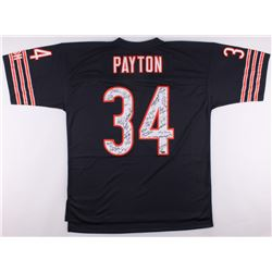 1985 Bears Walter Payton Jersey Team-Signed by (30) with Mike Ditka, Otis Wilson, Gary Fencik, Keith
