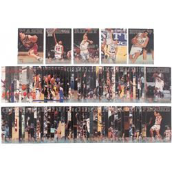 Complete Set of (102) 1996 Score Board Rookies Baseball Cards with #18 Steve Nash, #50 Shandon Ander