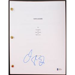 "Adam Sandler Signed ""Happy Gilmore"" Full Movie Script (Beckett COA)"