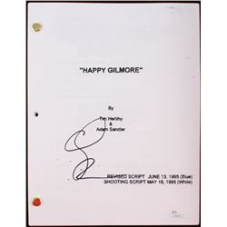 "Adam Sandler Signed ""Happy Gilmore"" Full Movie Script (JSA COA)"