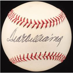 Ted Williams Signed OML Baseball (JSA LOA)