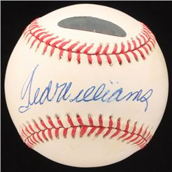 Ted Williams Signed OML Baseball (Williams Hologram)