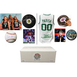 Hall of Fame Enshrinement Mystery Box - Series 5 (Limited to 75) (4 Autographs/ 2 or More Hall of Fa
