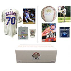 2016 Chicago Cubs World Champs Mystery Autograph Gift Box– Series 4 (Limited to 108) Â