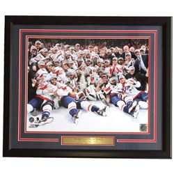 Capitals Stanley Cup Champions 22x27 Custom Framed Team Photo Display