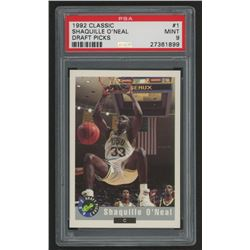 1992 Classic #1 Shaquille O'Neal (PSA 9)