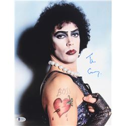 """Tim Curry Signed """"Rocky Horror Picture Show"""" 11x14 Photo (Beckett COA)"""