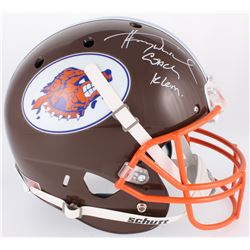 """Henry Winkler Signed """"The Waterboy"""" South Central Louisiana State University Mud Dogs Full-Size Helm"""