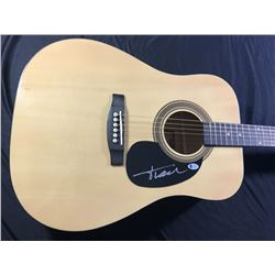 Trace Adkins Signed Full-Size Rogue Dreadnought Acoustic Guitar (Beckett COA)
