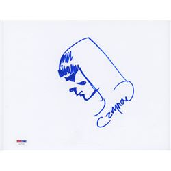 """Cary Nord Signed """"Conan the Barbarian"""" 8.5x11 Sketch Cut with Original Sketch (PSA COA)"""