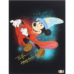"""Bret Iwan Signed Mickey Mouse 11x14 Photo Inscribed """"Mickey Mouse"""" (PA COA)"""