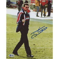 "Mike Ditka Signed Bears ""Bird Flip"" 8x10 Photo (Beckett COA)"