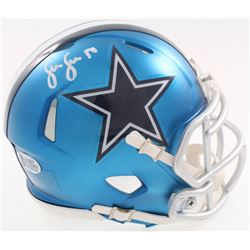 Sean Lee Signed Cowboys Blaze Speed Alternate Mini-Helmet (Beckett COA)