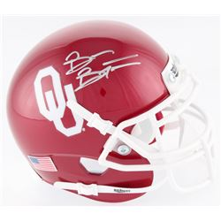 Brian Bosworth Signed Oklahoma Sooners Mini Helmet (Beckett COA)
