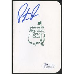 Patrick Reed Signed Augusta National Golf Club Scorecard (JSA COA)