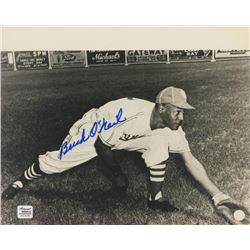 Buck O'Neil Signed Monarchs 8x10 Photo (Autograph Reference COA)