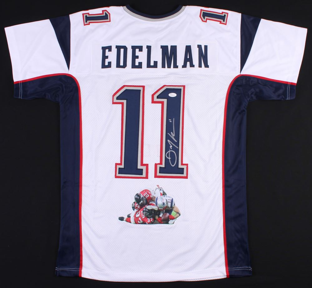 ... coupon julian edelman signed patriots jersey with custom stitched photo  jsa coa 935bf 6841d 534af8c3d