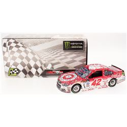 Kyle Larson Signed NASCAR #42 2017 Target Michigan Fall Win - 1:24 Premium Action Diecast Car (PA CO