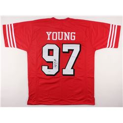 Bryant Young Signed 49ers Jersey (Beckett COA)