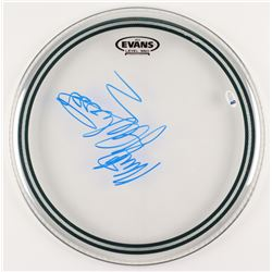 "Mick Fleetwood Signed 14"" Drum Head (Beckett COA)"