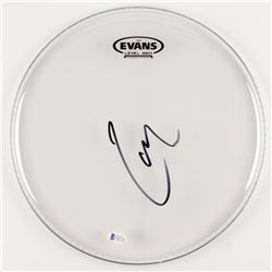 "Lars Ulrich Signed 12"" Drum Head (Beckett COA)"