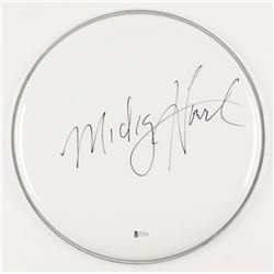 "Mickey Hart Signed 12"" Drum Head (Beckett COA)"