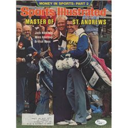 Jack Nicklaus Signed 1978 Sports Illustrated Magazine (JSA COA)