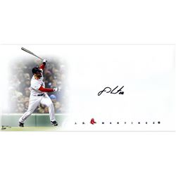 "J. D. Martinez Signed Red Sox ""Big Sig"" 16x20 Limited Edition Photo (Steiner COA)"