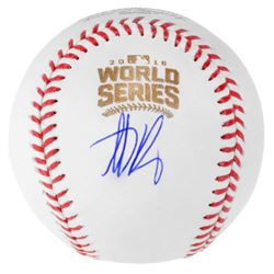 Anthony Rizzo Signed 2016 World Series Logo Baseball (Fanatics Hologram  MLB Hologram)