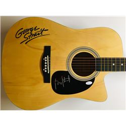 George Strait Signed Full-Size Huntington Acoustic Guitar (JSA COA)