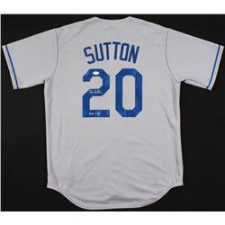 "Don Sutton Signed Dodgers Jersey Inscribed ""HOF 98"" (JSA COA)"