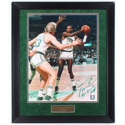 "Cedric Maxwell Signed Celtics ""1981 Finals MVP"" 23x26.75 Custom Framed Photo Display Inscribed ""1981"
