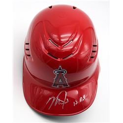 """Mike Trout Signed Angels Full-Size Authentic Batting Helmet Inscribed """"12 ROY"""" (MLB Hologram)"""