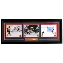 Braden Holtby 2018 Stanley Cup Capitals 16x39 Custom Framed Photo Display