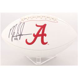 Mark Ingram Signed Alabama Crimson Tide Logo Football (Radtke COA  Ingram Hologram)