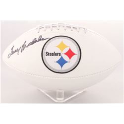 Terry Bradshaw Signed Steelers Logo Football (PSA  Terry Bradshaw Hologram)