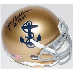 "Joe Bellino Signed Navy Midshipmen Mini-Helmet Inscribed ""H-1960"" (Radtke COA)"