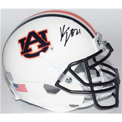 Kerryon Johnson Signed Auburn Tigers Mini-Helmet (Radtke COA)
