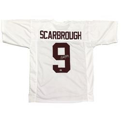 Bo Scarbrough Signed Alabama Crimson Tide Jersey (Scarbrough Hologram)