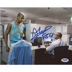 Stuart Scott Signed 8x10 Photo (PSA COA)