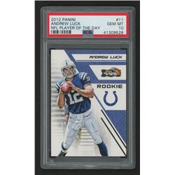 2012 Panini Player of the Day #11 Andrew Luck (PSA 10)