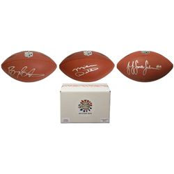 Schwartz Sports Football Superstar Signed Full Size Football - Series 6 (Limited to 50) - 50 Differe
