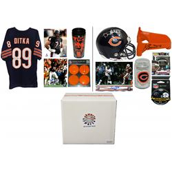 1985 Chicago Bears World Champs Mystery Autograph Gift Box – Series 2 (Limited to 120) (3 Autograp