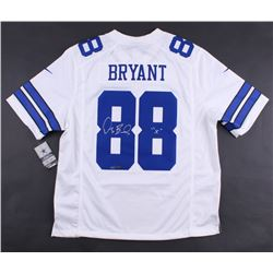 "Dez Bryant Signed Cowboys LE Authentic Nike On-Field Jersey Inscribed ""X"" (Panini COA)"