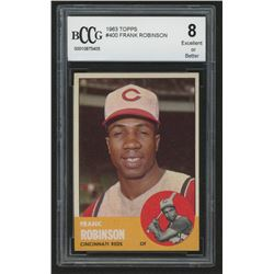 1963 Topps #400 Frank Robinson (BCCG 8)