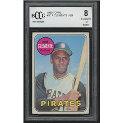 1969 Topps #50 Roberto Clemente (BCCG 8)