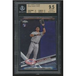 2017 Topps Chrome #169A Aaron Judge RC (BGS 9.5)